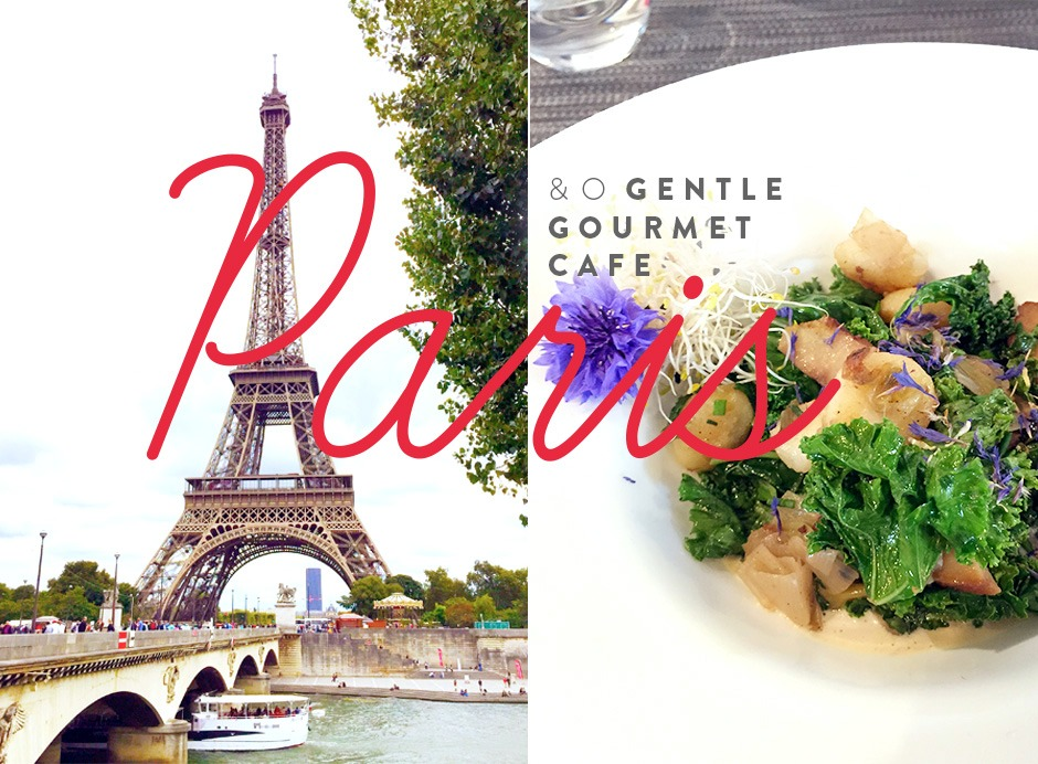 Paris e o Gentle Gourmet Cafe - Fru-fruta