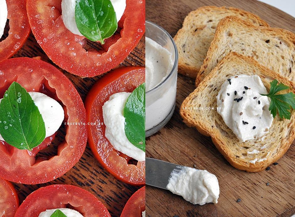 Cream Cheese Vegano: 2 versões. Sem Lactose e Fácil! | Receita | Pati Bianco | Fru-fruta