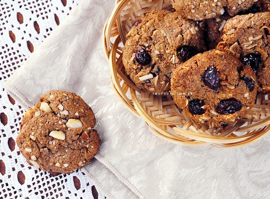 Cookies Integrais Veganos