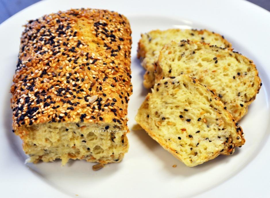 Pão Sem Glúten com Multigrãos e Tomilho