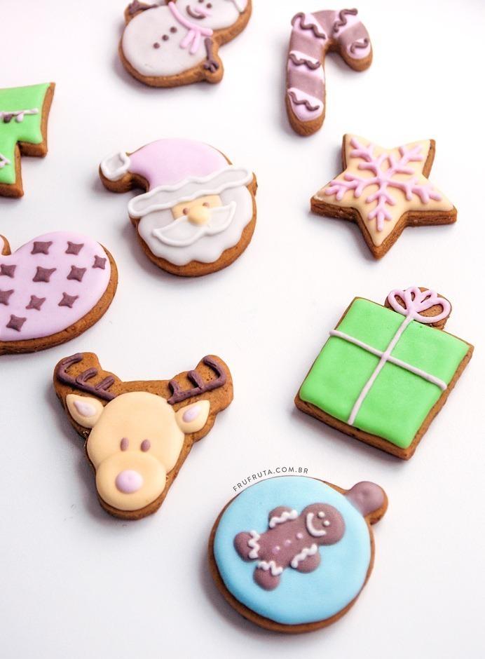 Biscoitos de Natal (Sem Glúten, Sem Lactose, Veganos)