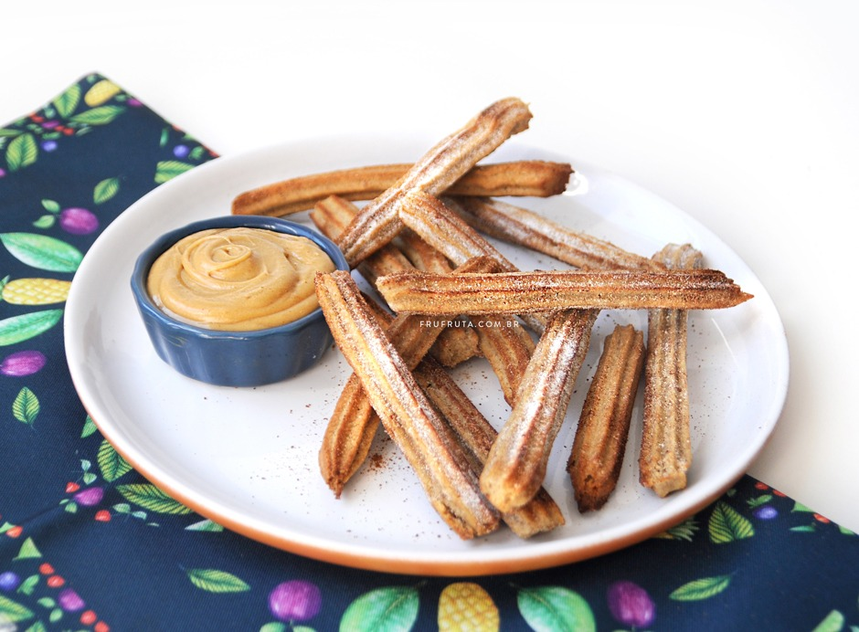 Churros Saudável - Integral, Assado e Sem Lactose!