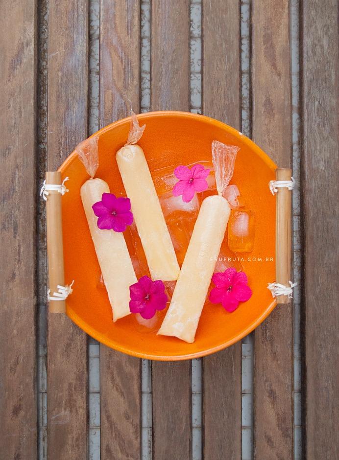 Geladinho Saudável de Tangerina e Amêndoas + Muffin com Resíduo - Sem Lactose, Sem Glúten, Vegano | Receita | Video | Pati Bianco | Fru-fruta