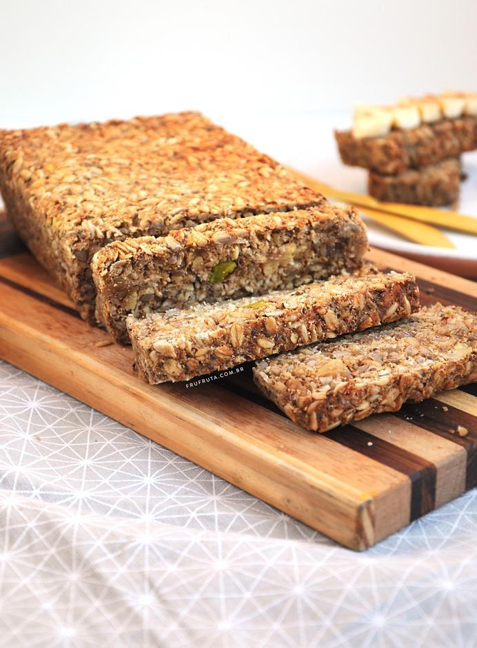 Pão de Sementes: sem glúten, lowcarb, sem fermento e SENSACIONAL!