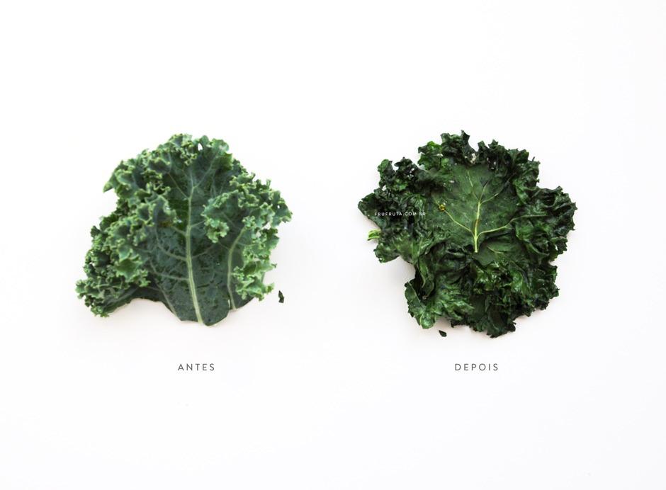 Chips de Kale no Microondas - Pronto em 5 Minutos e Super Crocante! | Receita | Pati Bianco | Fru-fruta