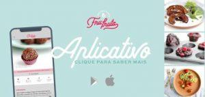 Aplicativo de Receitas Fru-fruta por Pati Bianco | Baixe agora